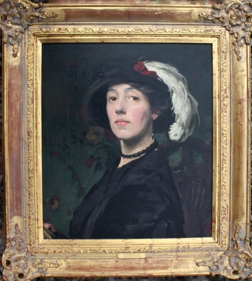Do You Konw Who I Am Riot Couture , after Scottish school, circa 1910 Oil on canvas