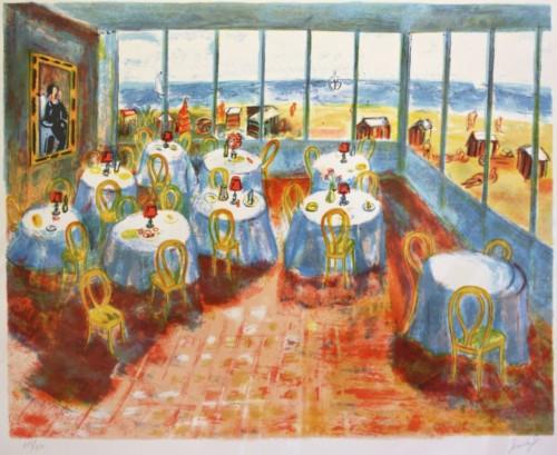 Restaurante en la Plage