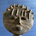 Han22/06/20  (lot 219) pa110 Ashanti or Fante - Ghana Clay 18 x 13 x 19cm £650