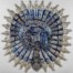 10. Title: Charles of Knightrider Court Medium: Laser cut beer cans  Dimensions: 160 x 160cm (63 x63 inches) £17,200.00