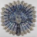 13. Anne of Bleeding Heart Yard Medium: Laser cut beer cans Dimensions: 160 x 160cm (63 x63 inches) £17,200.00