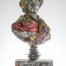 Noble nobleman Dimensions: 116 x 50 x 25cm Medium: Compressed beer cans £12,600.00