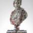 Aphrodite   Dimensions: 103 x 50 x 25cm Medium: Compressed beer cans  £12,600.00