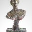 Helen of Troy  Dimensions: 112 x 50 x 25cm Medium: Compressed beer cans £12,600.00